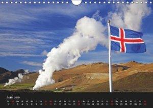 Island und die Färöer (Wandkalender 2019 DIN A4 quer)