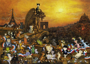 Cats in Paris Puzzle
