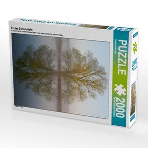Erstes Sonnenlicht 2000 Teile Puzzle hoch