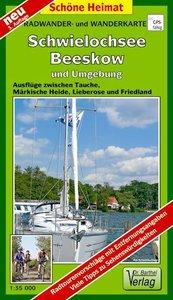 Schwielochsee, Beeskow und Umgebung 1 : 35 000. Radwander-und Wa