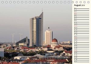 Unterwegs im schönen Sachsen (Tischkalender 2019 DIN A5 quer)