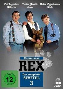 Kommissar Rex-Die komplette 3.St