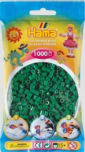 Hama 207-10 - Perlen grün, 1000 Stück