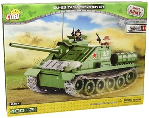 COBI 2467 - WWII SU-85 Tank Destroyer, Small Army, grün