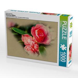 Ein Motiv aus dem Kalender Kamelien Blüten 1000 Teile Puzzle que