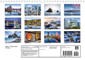 Japan - Reise nach Fernost (Wandkalender 2020 DIN A4 quer)