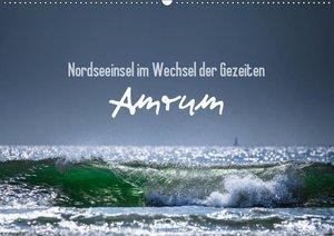 Amrum - Nordseeinsel im Wechsel der Gezeiten (Wandkalender 2019