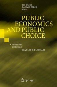 Public Economics and Public Choice