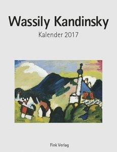 Wassily Kandinsky 2017. Kunstkarten-Einsteckkalender