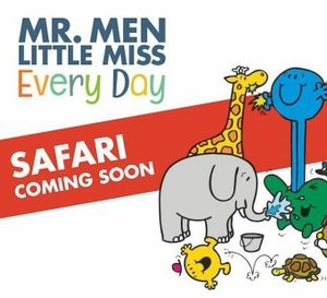 Mr Men go on Safari