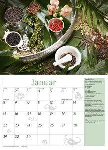 Küchenkalender mit Rezepten 2018. Broschürenkalender