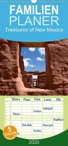Treasures of New Mexico - Familienplaner hoch (Wandkalender 2020