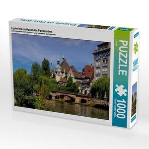 Lycée international des Pontonniers 1000 Teile Puzzle quer