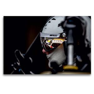 Premium Textil-Leinwand 120 cm x 80 cm quer ROWE Racing Mercedes