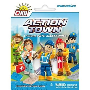 Cobi 1852 - Action Town, 1 Figur mit Zubehör