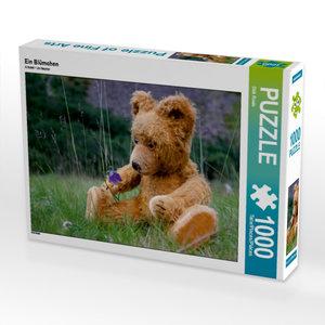 Ein Blümchen 1000 Teile Puzzle quer