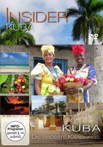 Die größte Karibikinsel: Kuba, 1 DVD (deutsche u. englische Vers