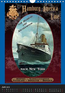 Deutsche Handelsschiffe vor 1945 (Wandkalender 2019 DIN A4 hoch)