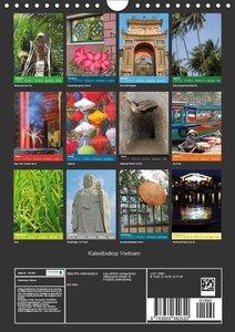 Kaleidoskop Vietnam (Wandkalender 2019 DIN A4 hoch)