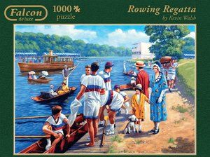 Falcon - Rowing Regatta. Puzzle 1000 Teile