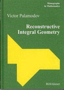 Reconstructive Integral Geometry