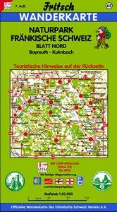 Naturpark Fränkische Schweiz Nord 1 : 50 000. Fritsch Wanderkart