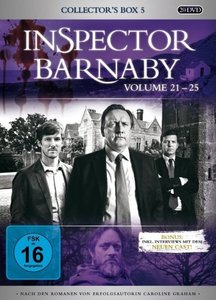 Inspector Barnaby-(21-25)Collector\'s Box 5