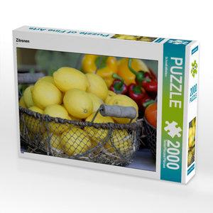 Zitronen 2000 Teile Puzzle quer