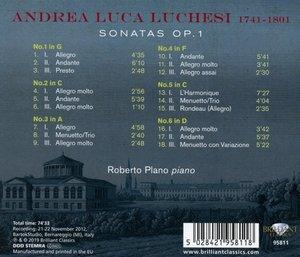 Luchesi:Sonatas op.1