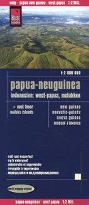 Reise Know-How Landkarte Papua-Neuguinea, Indonesien: West-Papua