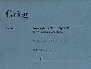 Norwegische Tänze Opus 35 für Klavier zu vier Händen