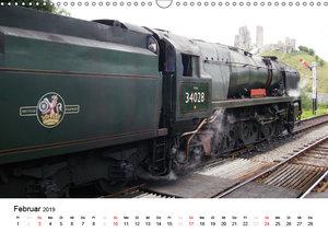 Nostalgische Eisenbahnen Englands (Wandkalender 2019 DIN A3 quer