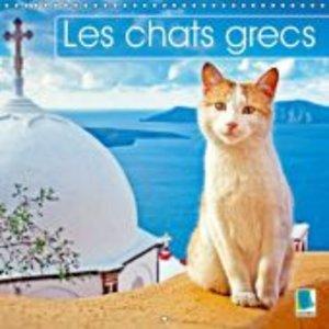 Les chats grecs (Calendrier mural 2015 300 × 300 mm Square)