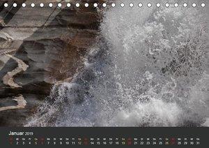 Bergwasser (Tischkalender 2019 DIN A5 quer)