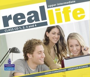 Real Life Global Upper Intermediate Class CDs 1-4