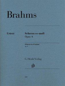 Scherzo es-moll op. 4