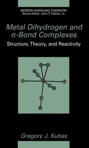 Metal Dihydrogen and s-Bond Complexes