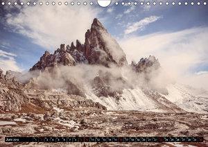 Dolomiten - Rundreise um Drei Zinnen (Wandkalender 2019 DIN A4 q