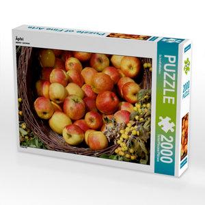 Äpfel 2000 Teile Puzzle quer
