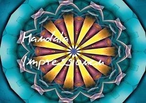Mandala Impressionen (Posterbuch DIN A4 quer)