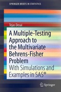 A Multiple-Testing Approach to the Multivariate Behrens-Fisher P