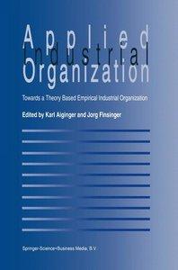 Applied Industrial Organization