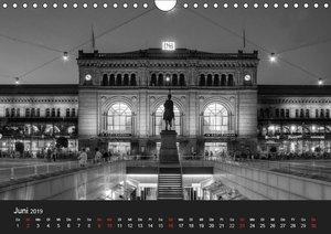 Hannover Monochrome Impressionen (Wandkalender 2019 DIN A4 quer)