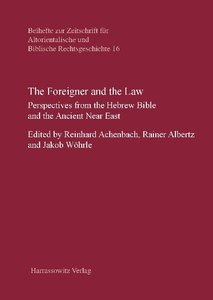 The Foreigner and the Law