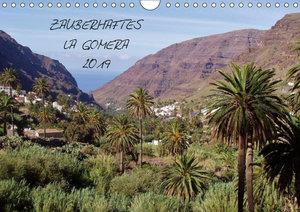 Zauberhaftes La Gomera (Wandkalender 2019 DIN A4 quer)