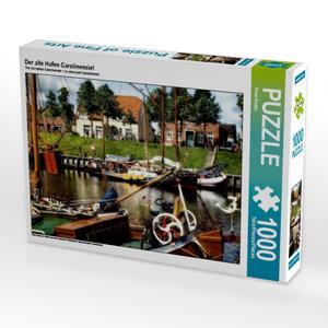 Der alte Hafen Carolinensiel 1000 Teile Puzzle quer