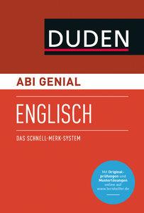 Abi genial Englisch. Das Schnell-Merk-System (SMS). Buch mit Onl