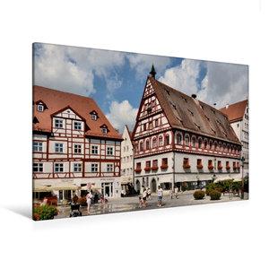 Premium Textil-Leinwand 120 cm x 80 cm quer Brot - und Tanzhaus