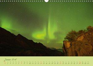 Nordlicht-Zauber auf den Lofoten. Aurora borealisCH-Version