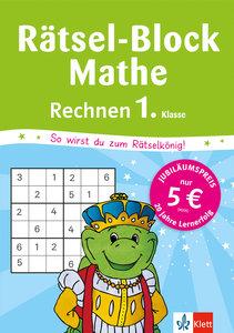 Rätsel-Block Mathe. Rechnen 1. Klasse